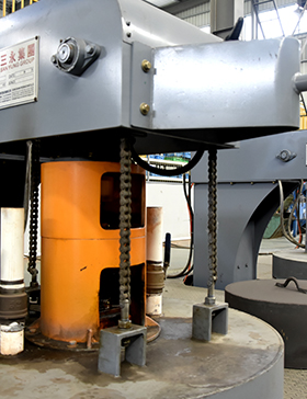 Sanyong Vertical Forging Tempering Furnace